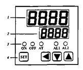 Термоконтроллер TM-7000 панель управления